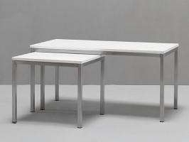 Couchtisch white 50x50 wei for Couchtisch 50x50